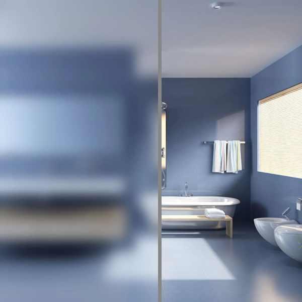 vidaXL Folie autocolantă mată cu adeziv pentru ferestre, 0,9 x 5 m