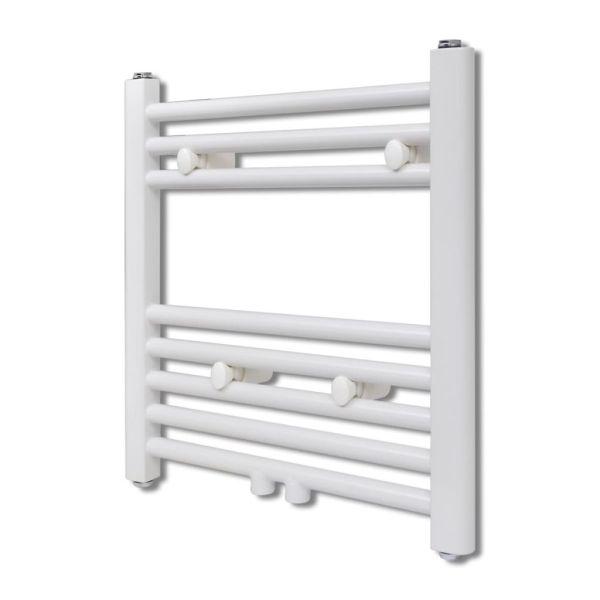 Radiator port-prosop încălzire centrală baie, drept, 480×480 mm
