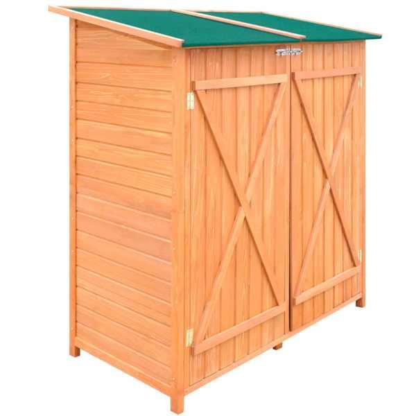 Magazie din lemn pentru unelte de grădină, mare