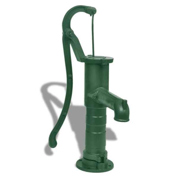 vidaXL Pompă de apă manuală de grădină, fontă