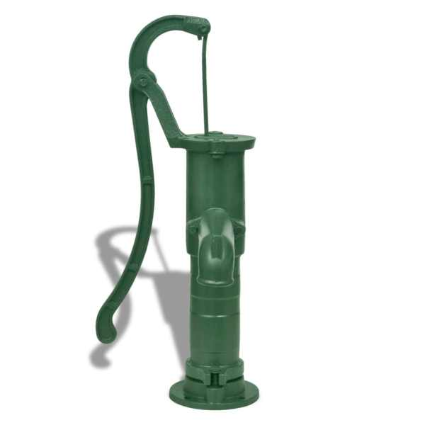 Pompă de apă manuală de grădină, fontă