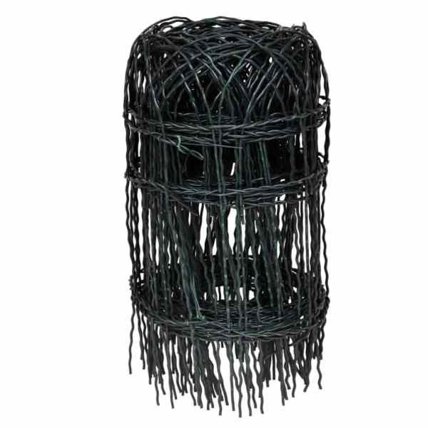 Gard delimitare grădină fier vopsit electrostatic 10 x 0,4 m
