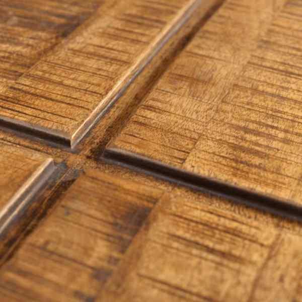 vidaXL Măsuță de cafea pătrată, maro, lemn masiv de mango