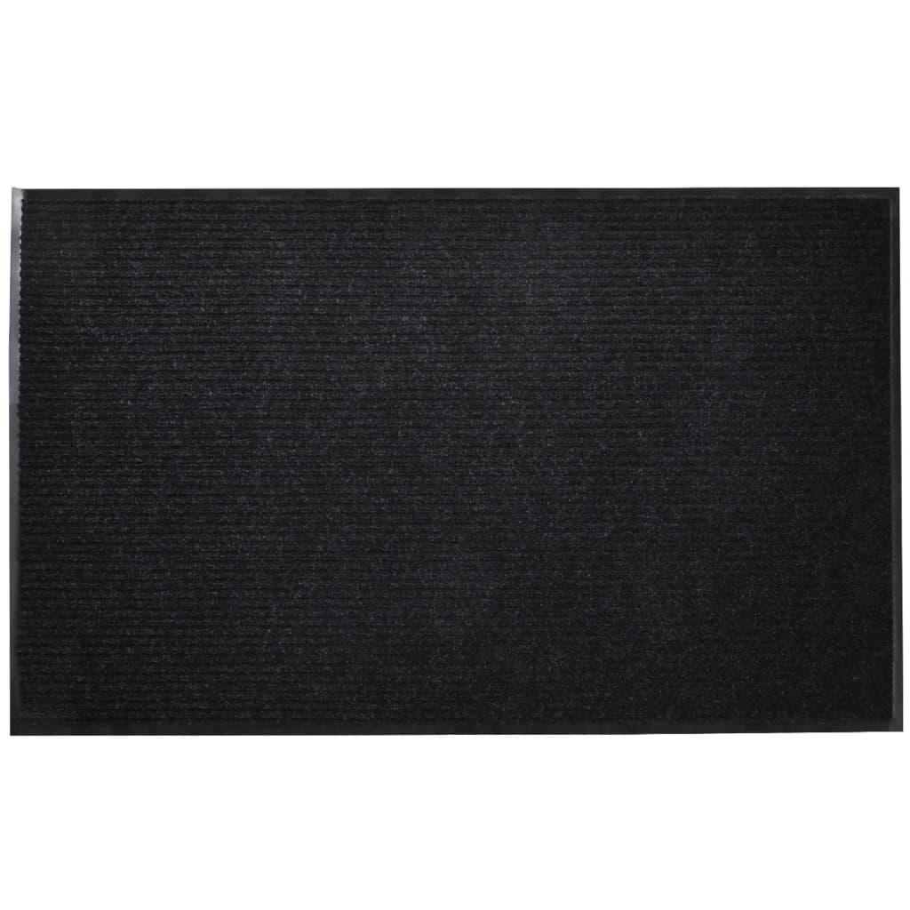 Covoraș Intrare PVC Negru 90 x 150 cm