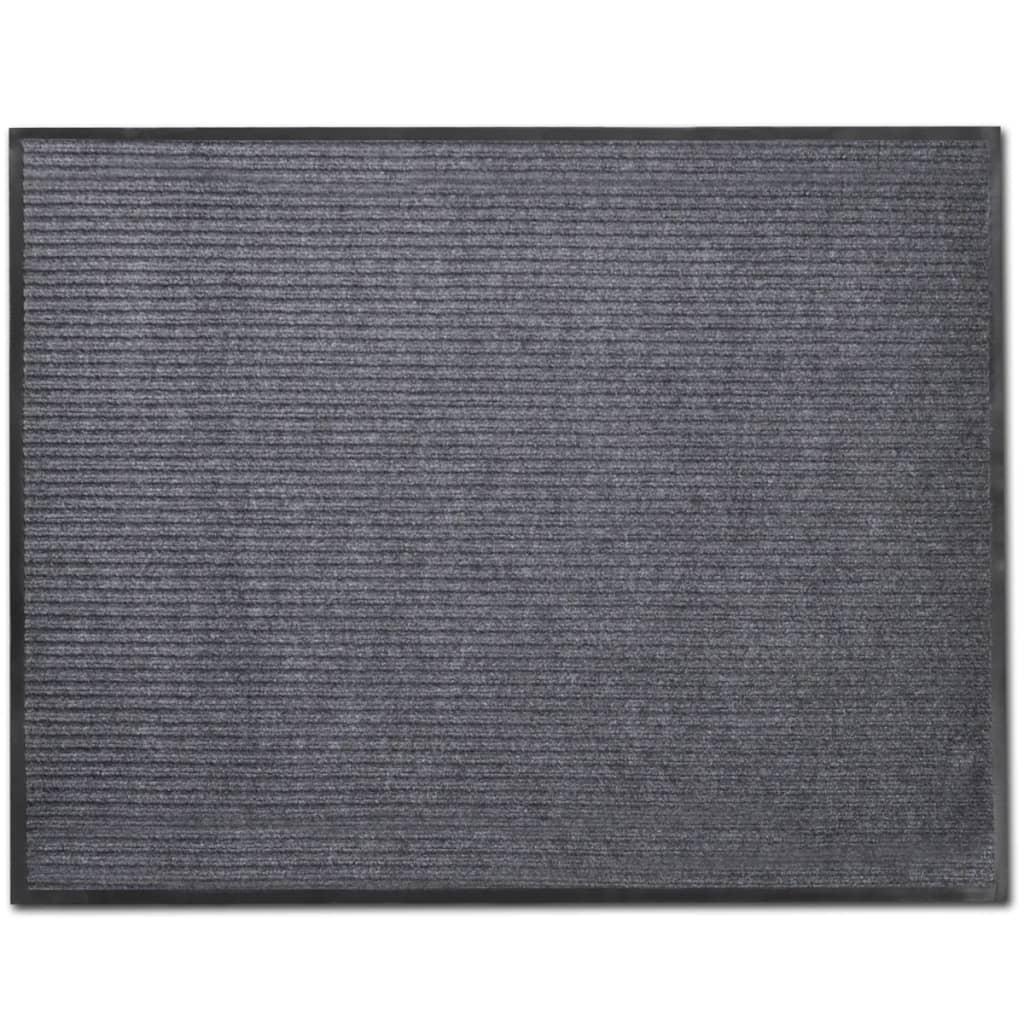 Covoraș Intrare PVC Gri 90 x 120 cm