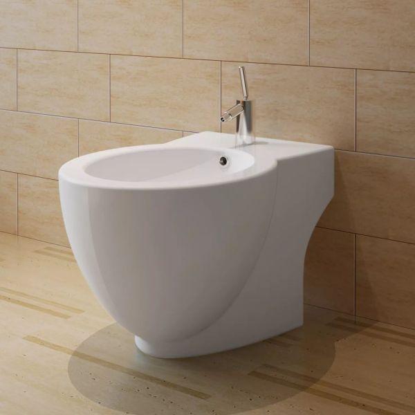 Set Toaletă și Bideu Ceramică Alb