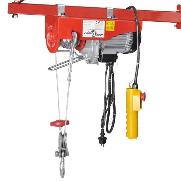 Troliu electric 1000 W 300/600 kg