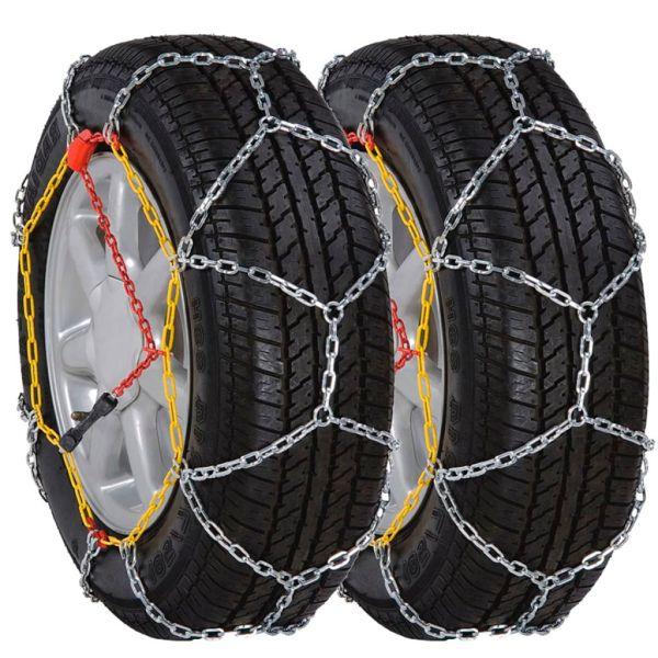 Lanțuri pentru zăpadă pentru anvelope auto 12 mm KN 90 2 buc.