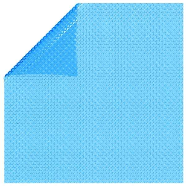 Folie dreptunghiulară pentru piscină din PE, 549 x 274 cm, albastru