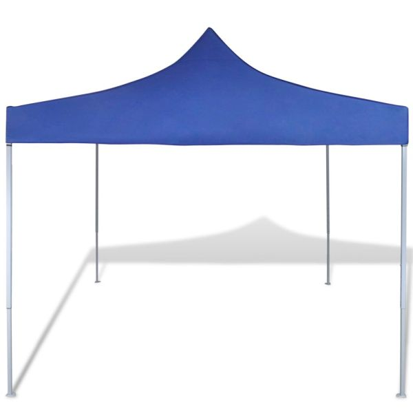 41465 vidaXL Blue Foldable Tent 3 x 3 m