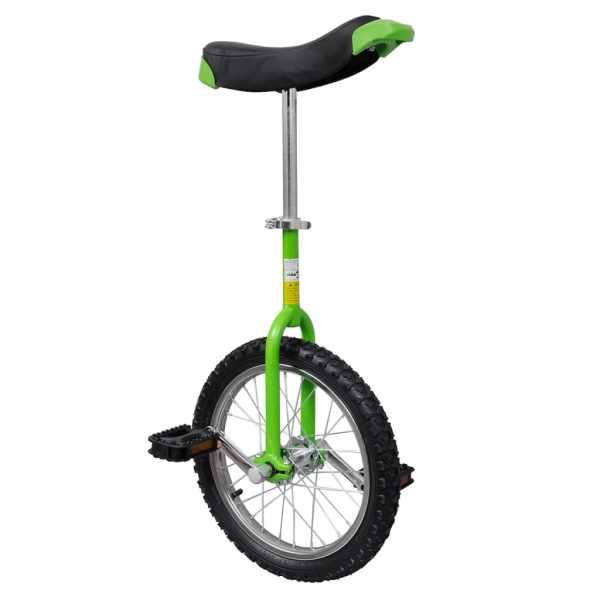 Monociclu verde reglabil 16 inci
