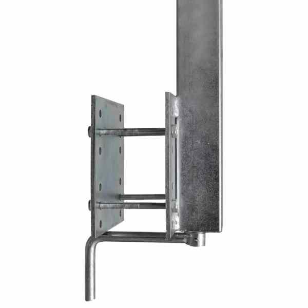 vidaXL Set suport remorcă pentru barcă, cu roți, 2 buc, 59 – 84 cm
