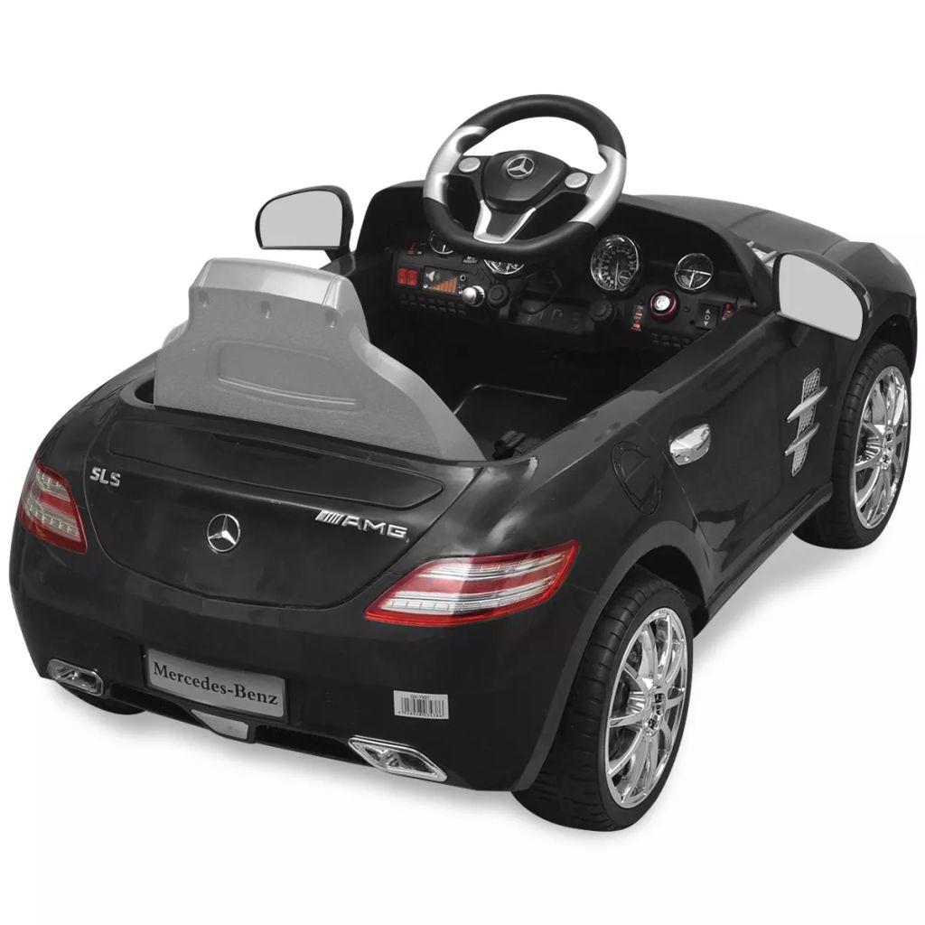Mașină electrică Mercedes Benz ML350 AMG, cu telecomandă, 6V, negru