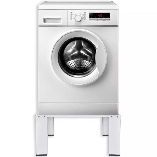 Stativ pentru mașina de spălat, alb