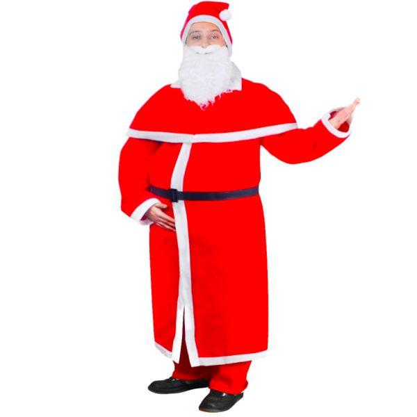 Set costum robă de Moș Crăciun