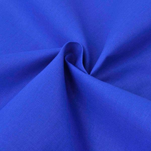 vidaXL Țesătură din bumbac 1,45 x 20 m, albastru