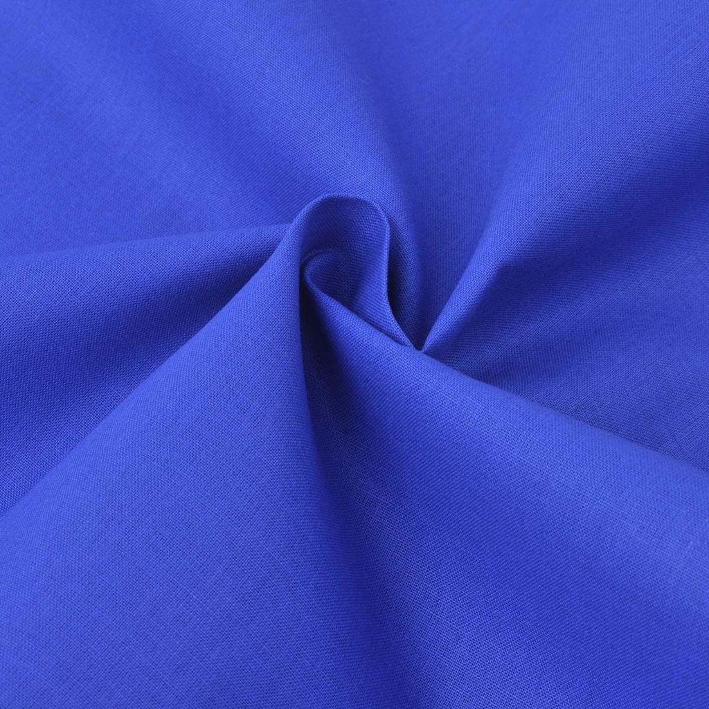 vidaXL Set husă pilotă, albastru, bumbac, 155×200/80×80 cm