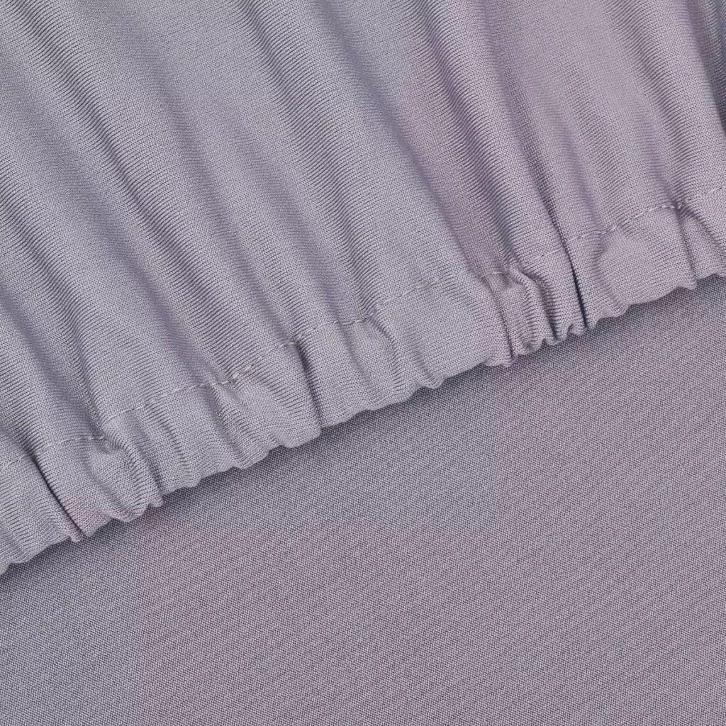 Husă elastică pentru canapea poliester jerseu, gri
