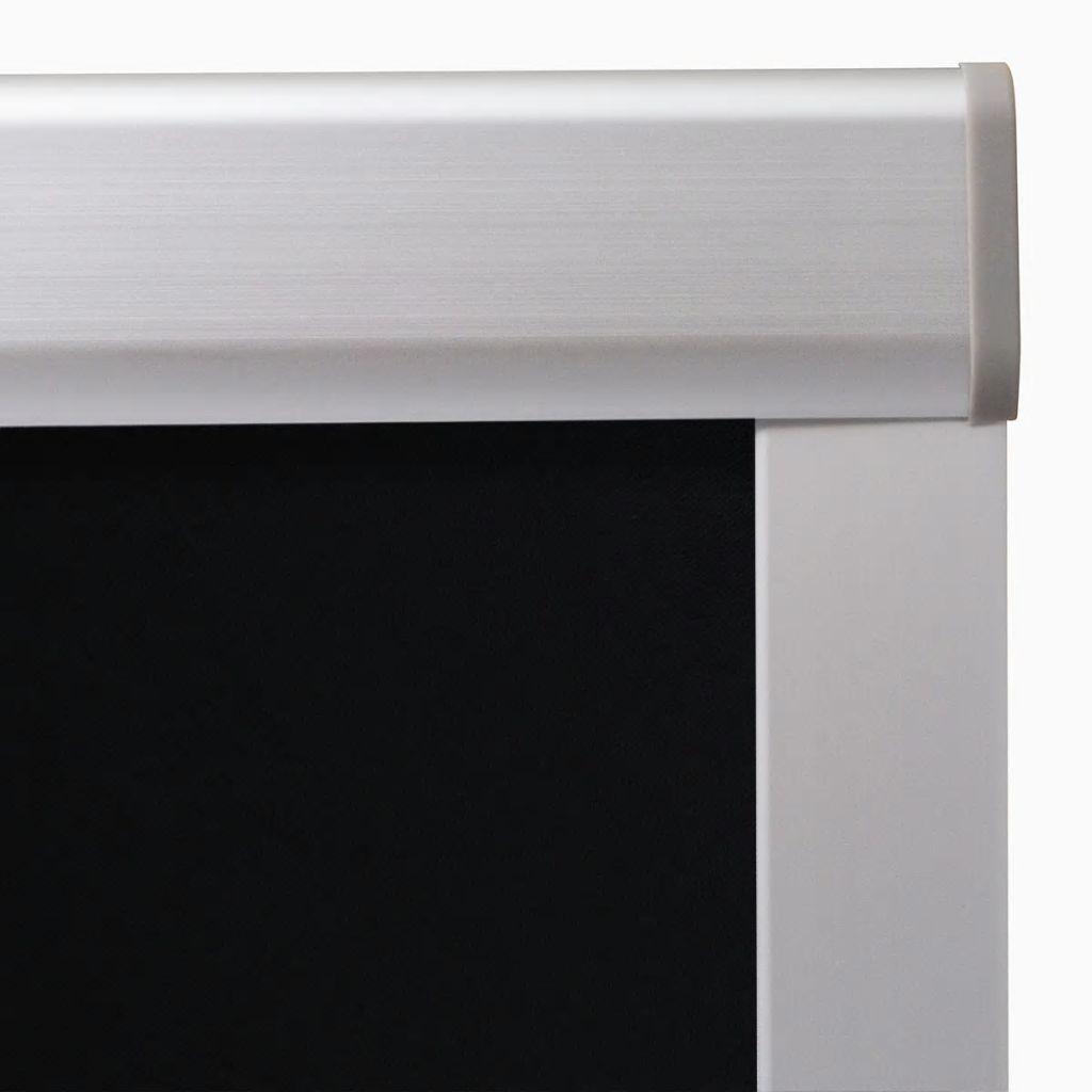 Jaluzele opace tip rulou 206, negru