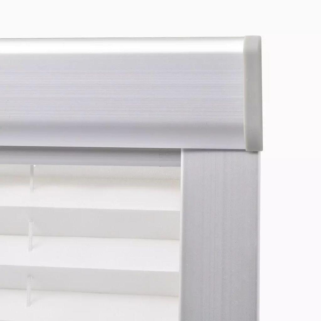 Jaluzele plisate F06, alb