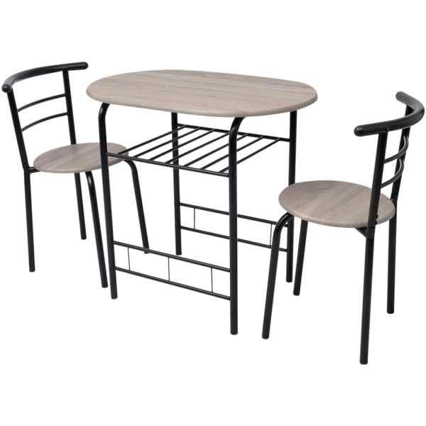vidaXL Set mobilier bar mic dejun, MDF