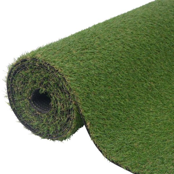 vidaXL Gazon artificial 1 x 5 m/20-25 mm, Verde