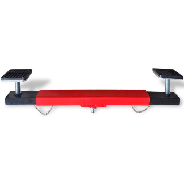 vidaXL Adaptor pentru cric tip crocodil 2 tone, roșu