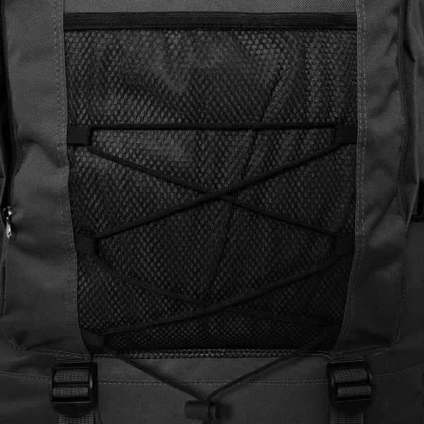 vidaXL Rucsac în stil militar XXL 100 L, Negru