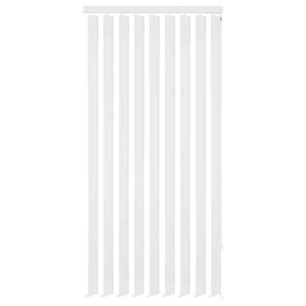 vidaXL Jaluzele verticale, alb, 195×180 cm, material textil