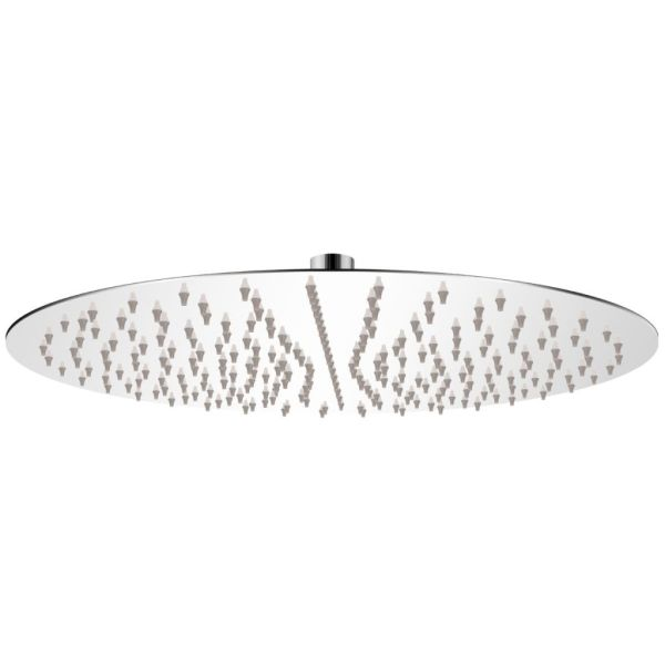 vidaXL Cap de duș rotund tip ploaie, oțel inoxidabil, 40 cm