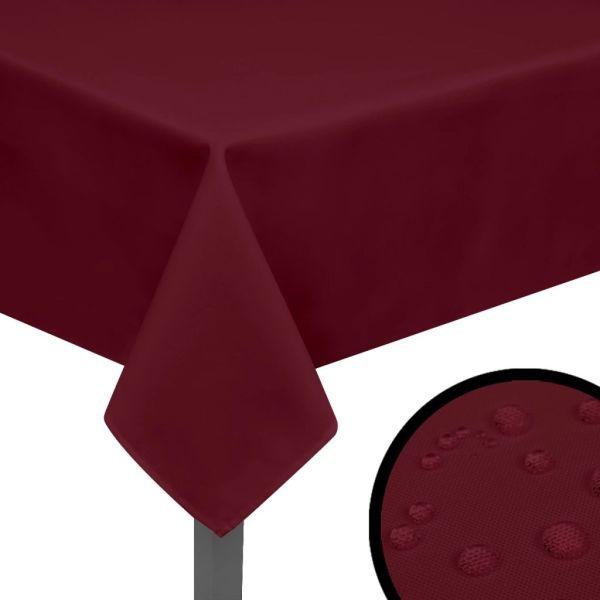 vidaXL Fețe de masă, 190 x 130 cm, roșu burgund, 5 buc.