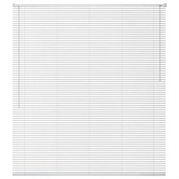 vidaXL Jaluzele pentru ferestre din aluminiu 120 x 160 cm, alb