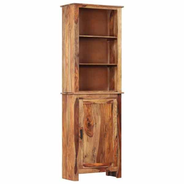vidaXL Dulap înalt, 60 x 30 x 180 cm, lemn masiv de sheesham