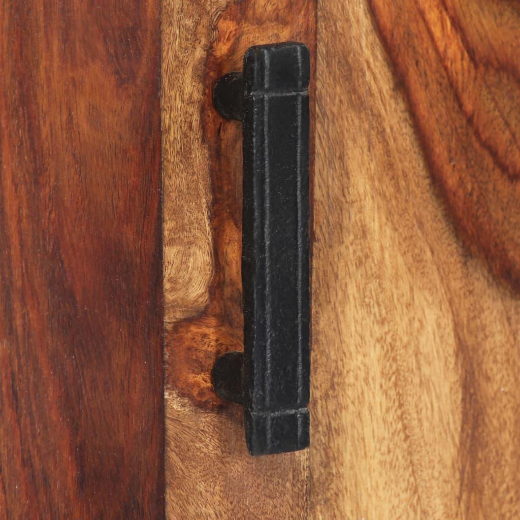 Dulap înalt, 60 x 30 x 180 cm, lemn masiv de sheesham