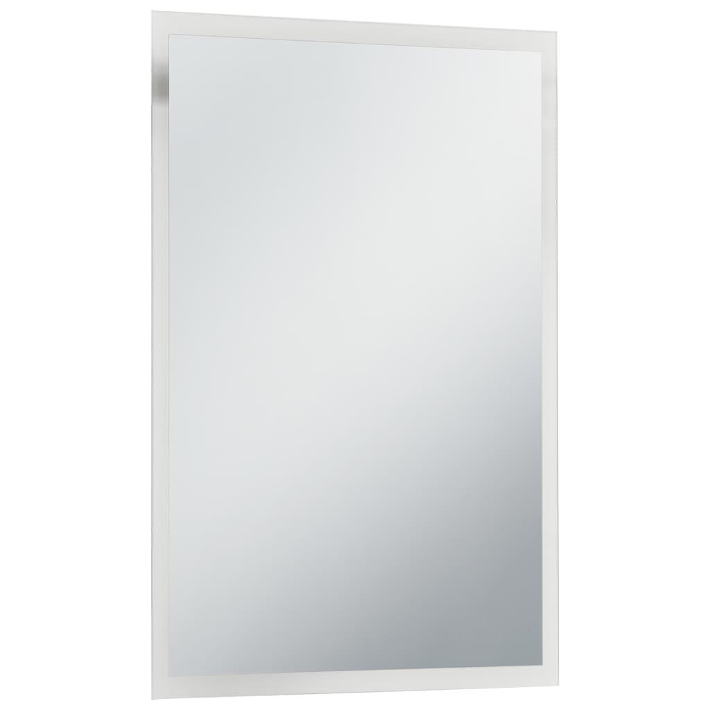 Oglindă cu LED de perete de baie, 60 x 80 cm