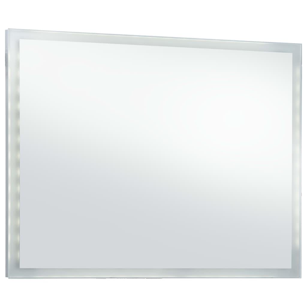 Oglindă cu LED pentru perete de baie, 100 x 60 cm
