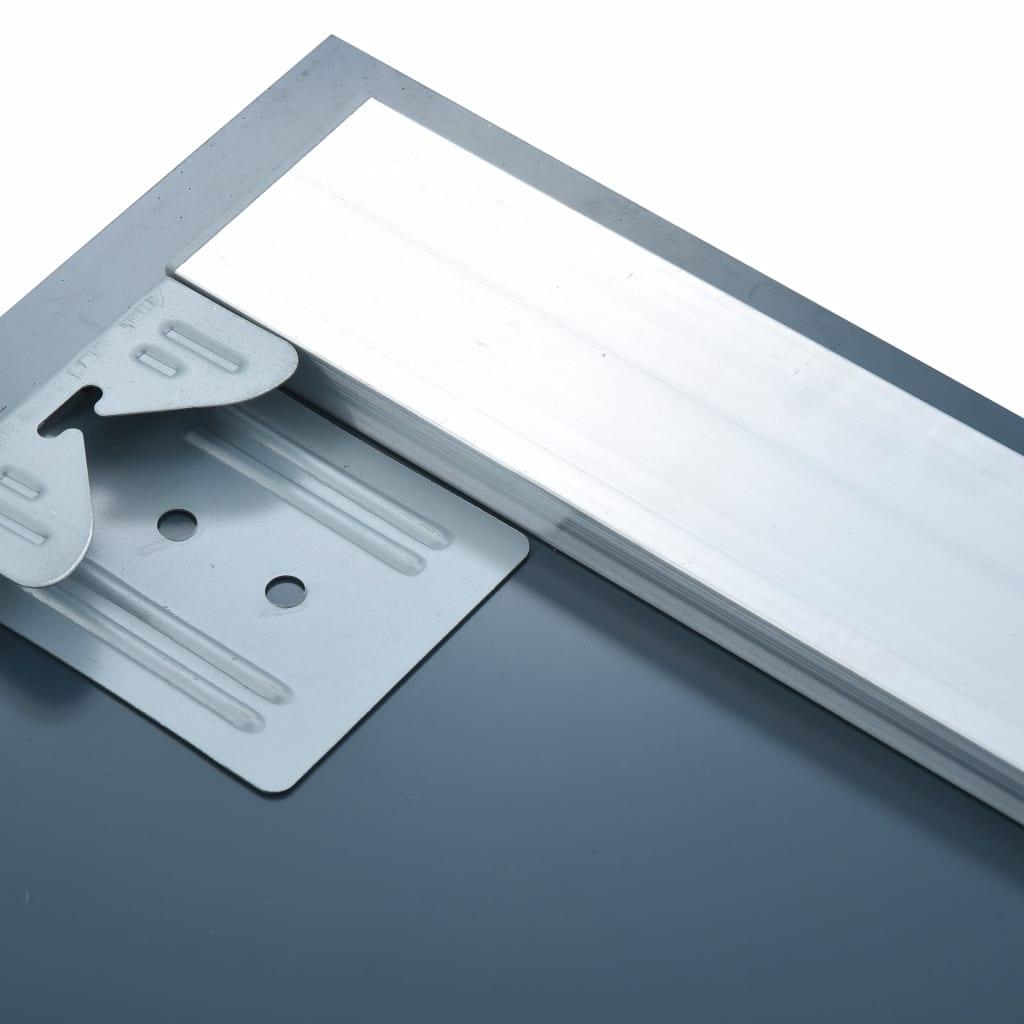 vidaXL Oglindă cu LED de perete de baie cu senzor tactil, 100×60 cm