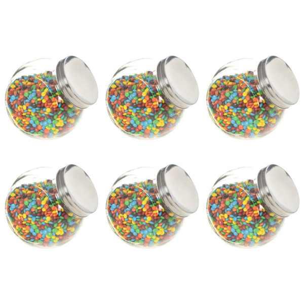 vidaXL Borcane pentru bomboane, 6 buc., 15,5 x 10,5 x 15 cm, 1400 ml