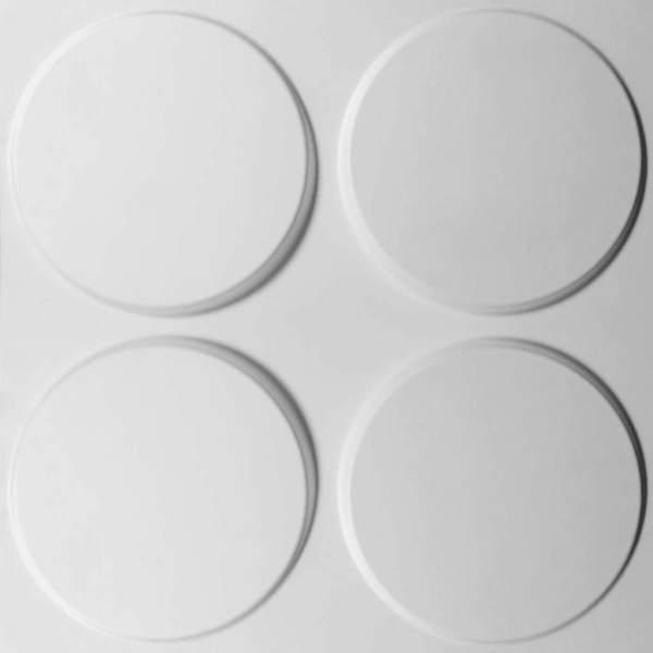 WallArt Panouri de perete 3D GA-WA03, 24 buc., ovaluri