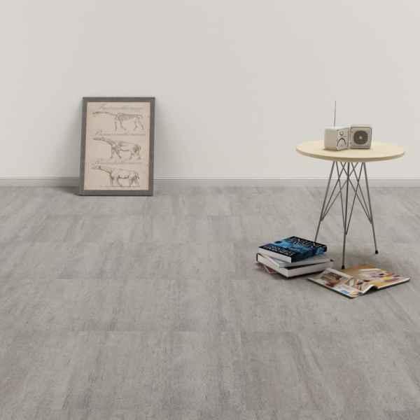 vidaXL Plăci de pardoseală autoadezive, gri punctat, 5,11 m², PVC