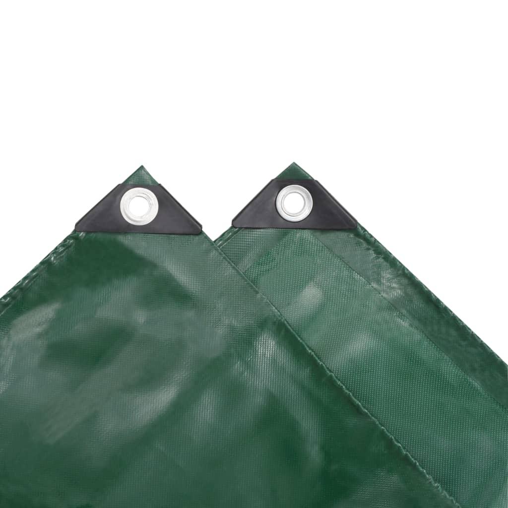 Prelată, verde, 1,5 x 20 m, 650 g / m²