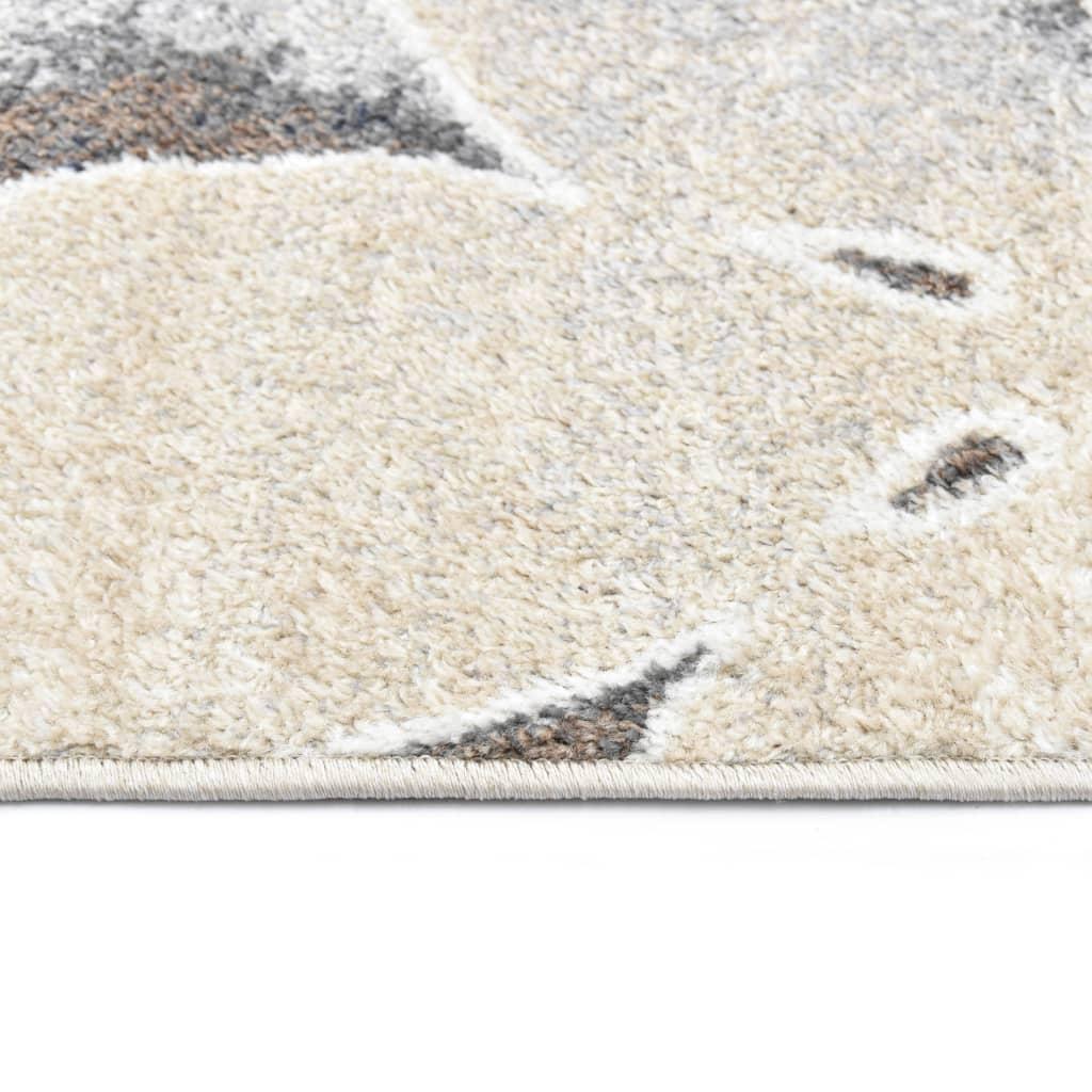 vidaXL Covor, gri, 80 x 150 cm, PP