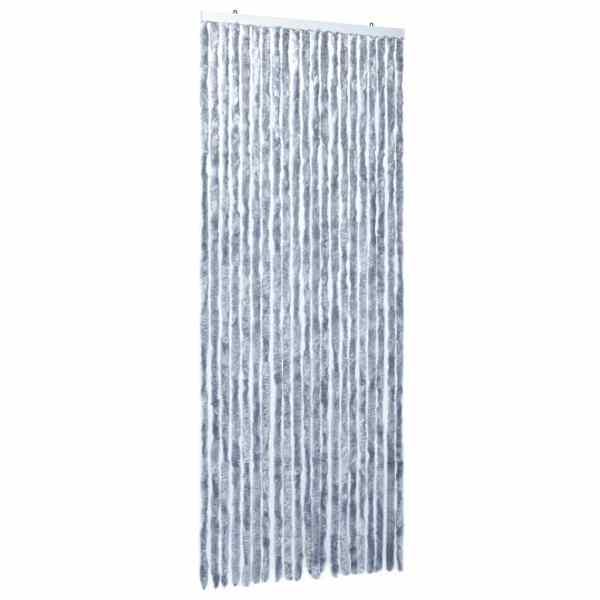 Perdea pentru insecte, argintiu, 90×220 cm, Chenille