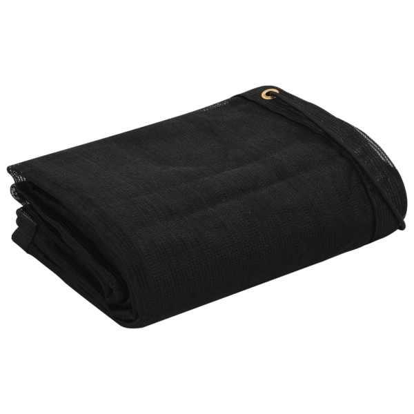 vidaXL Plasă de remorcă, negru, 2 x 3,5 m, HDPE
