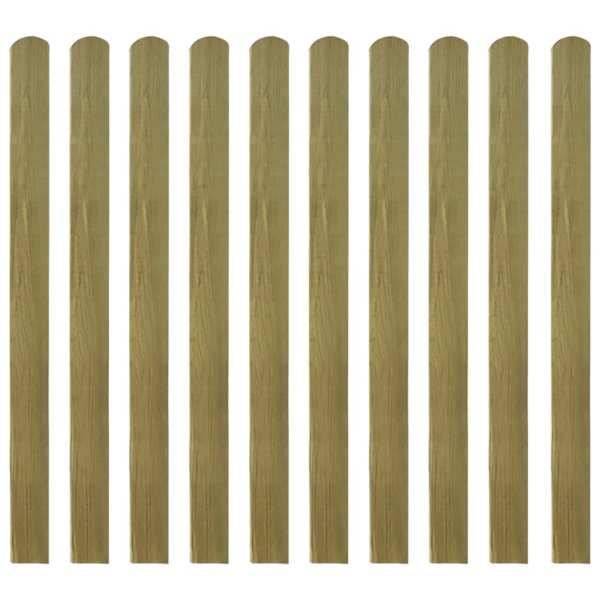vidaXL Șipci de gard din lemn tratat, 30 buc., 120 cm
