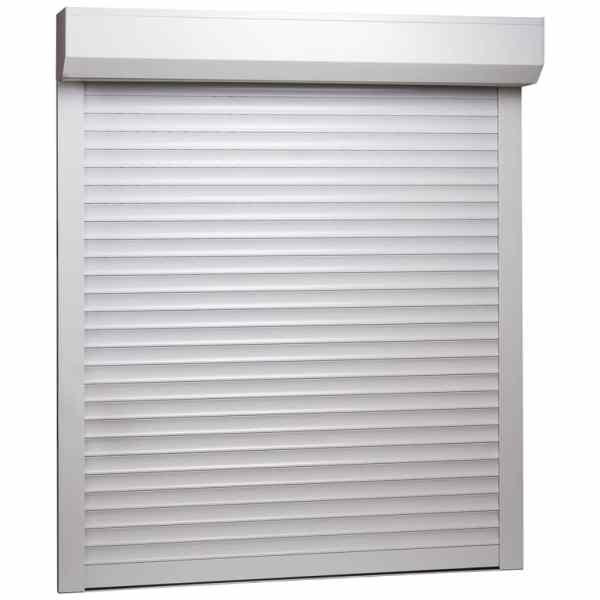 vidaXL Oblon rulant, alb, 80 x 100 cm, aluminiu