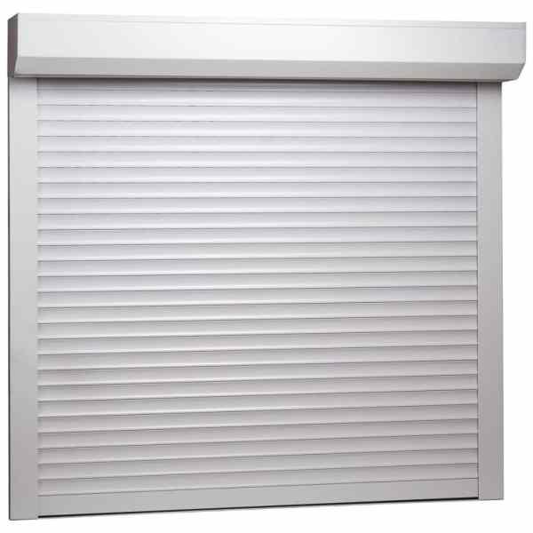 vidaXL Oblon rulant, alb, 160 x 150 cm, aluminiu