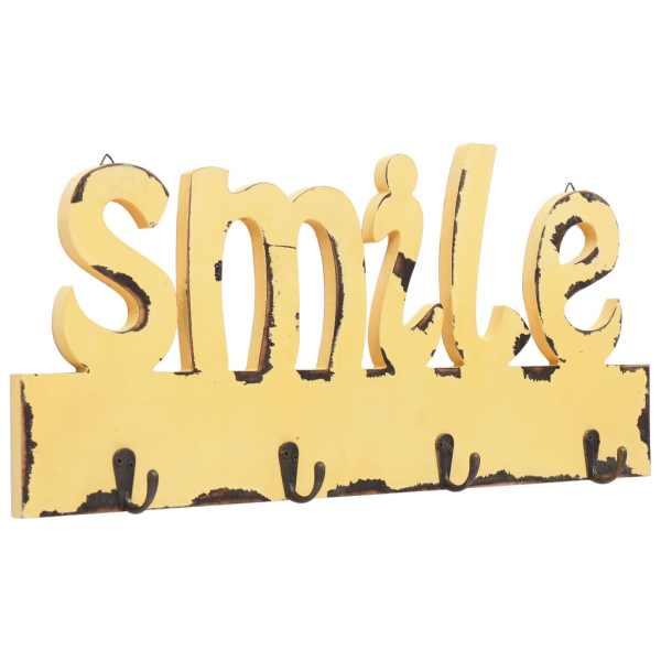 vidaXL Cuier de perete SMILE, 50 x 23 cm