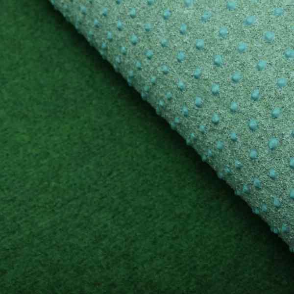 Gazon artificial cu crampoane, verde, 2×1,33 m, PP