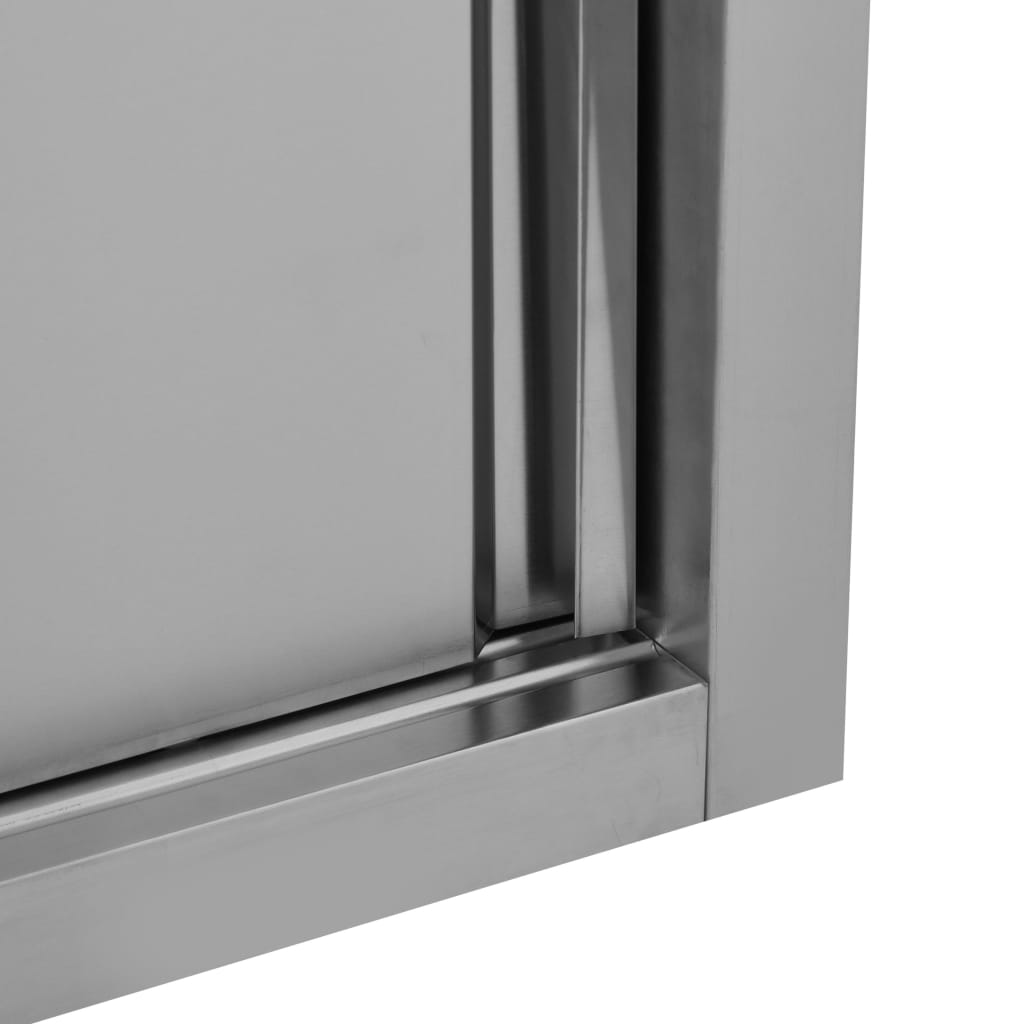 vidaXL Dulap perete bucătărie uși glisante 150x40x50cm oțel inoxidabil